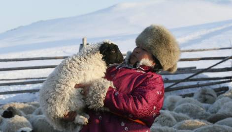 Frosty world of nomadic Siberian shepherds
