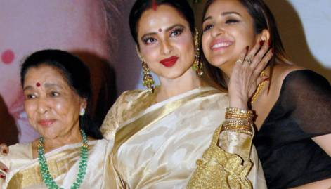 Rekha, Tamannaah and Tapsi in celebwatch
