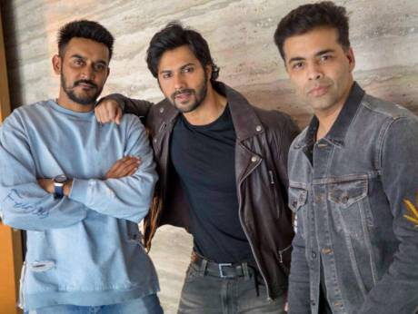 Karan Johar and Varun Dhawan launch 'Rannbhoomi'