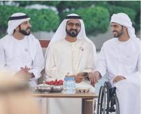 Watch: Shaikh Hamdan's poem for UAE war hero