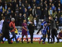 FA probe after Aguero clashes with Wigan fans