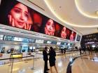 The VOX Cinemas at the Mall of the Emirates. Dubai as such has 400-odd screens, either running or all set to start showing in the near future.