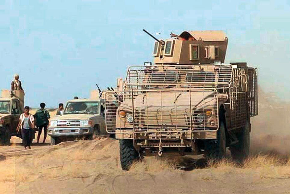 armed personnel carrier