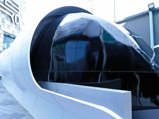 Hyperloop pod's global premiere in Dubai