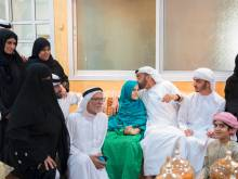 Mohammad offers condolences to martyrs' kin