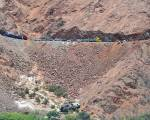 Horror image shows deadly Peru bus crash