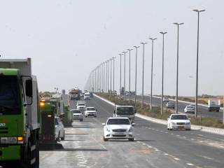New speed limit on Sharjah Maliha road