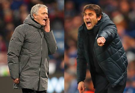Spotlight on Mourinho, Conte before marquee tie
