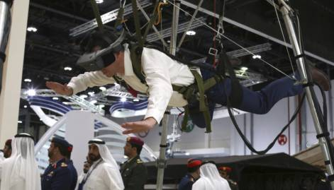 Take a look at Abu Dhabi drone fair