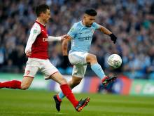 Manchester City beat Arsenal to win League Cup