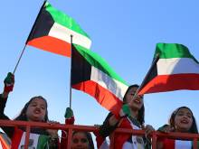 Kuwait and the UAE celebrate together