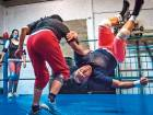 Mexican women wrestlers wage war of sexes