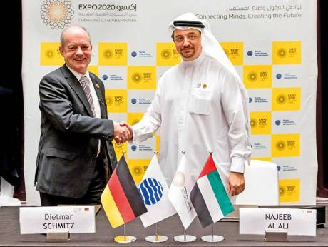 Germany signs Expo contract