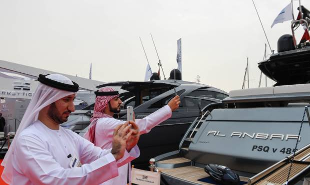 UAE is ranked 9th in the world's superyachts.