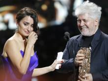 Cesar Awards: French stars say 'Time's Up'