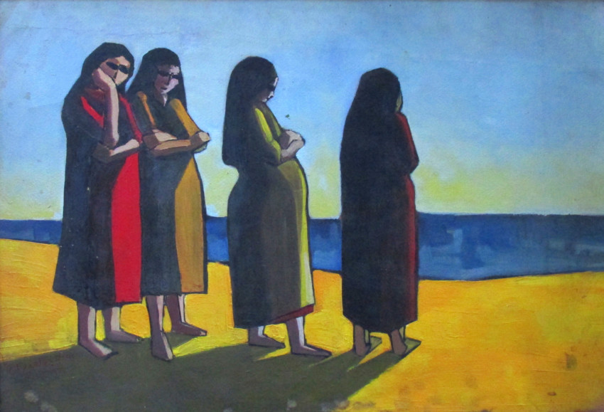Saeid El Adawy, Untitled, 1961. Courtesy Ahmed Eldabaa and Ubuntu Art Gallery