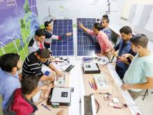 A ray of hope for  Palestine's youth