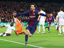 Conte: Magical Messi will never leave Barca