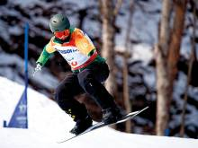From shark attack to Paralympic snowboarder