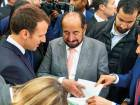Shaikh Sultan presented Macron with a number of his publications and literary works translated into French.