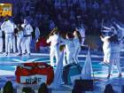 Artists perform during the opening ceremony of the Special Olympics IX MENA Games Abu Dhabi 2018 at the Abu Dhabi National Exhibition Centre.