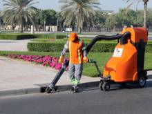 New eco-friendly vacuum cleaners on Dubai roads