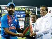 Pictures: India win T20 tri-series in Colombo