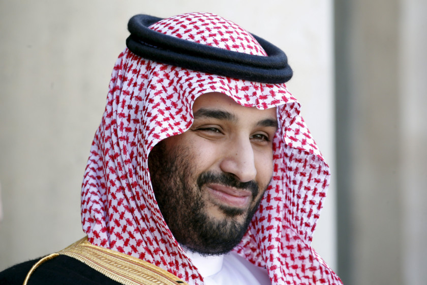 Trump meets Saudi Crown Prince MBS, sells weapons
