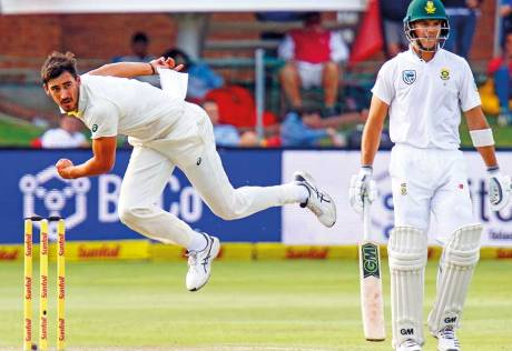 Bancroft hopeful of Starc recovery for 3rd Test