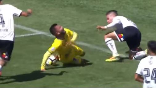 Watch: The worst/best dive you will ever see