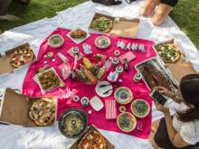 Now get food delivered to your picnic spot