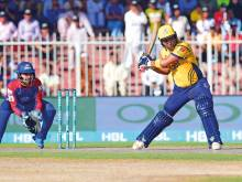 Holders Peshawar ace thrilling eliminator