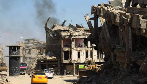 Look: The ruins of devastated city of Mosul