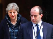 May seeks EU backing against Russia