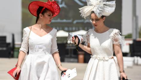 Style stakes: Glamour galore at Meydan