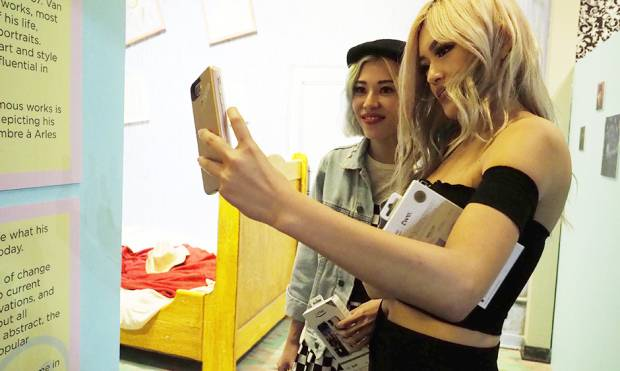 A Museum of Selfies opens in Los Angeles