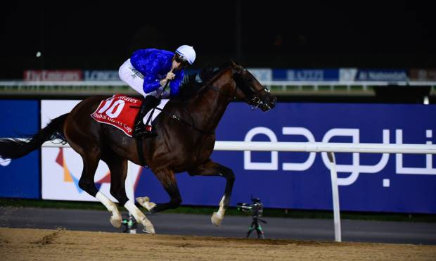 Dubai World Cup 'blooms' with festive spirit
