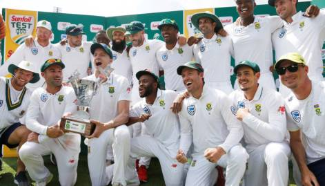 South Africa beat Australia, clinch series