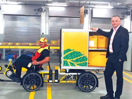 Aiming To Reduce Traffic Dhl Launches Bike Service In Uae