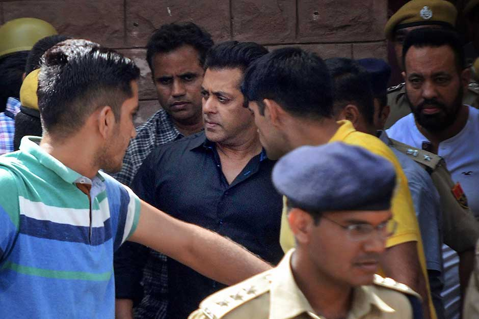 Salman Khan gets five years in jail in blackbuck poaching case