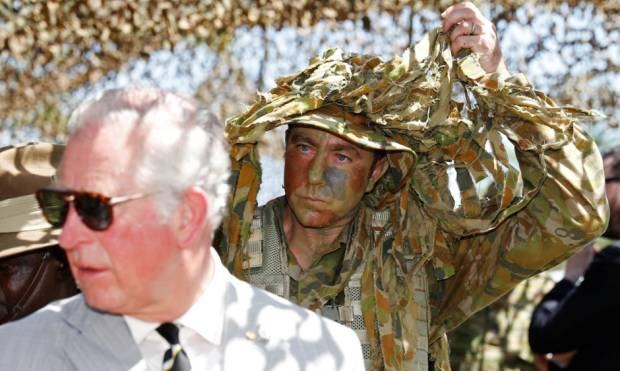 Prince Charles: meet NOFORCE the top end army