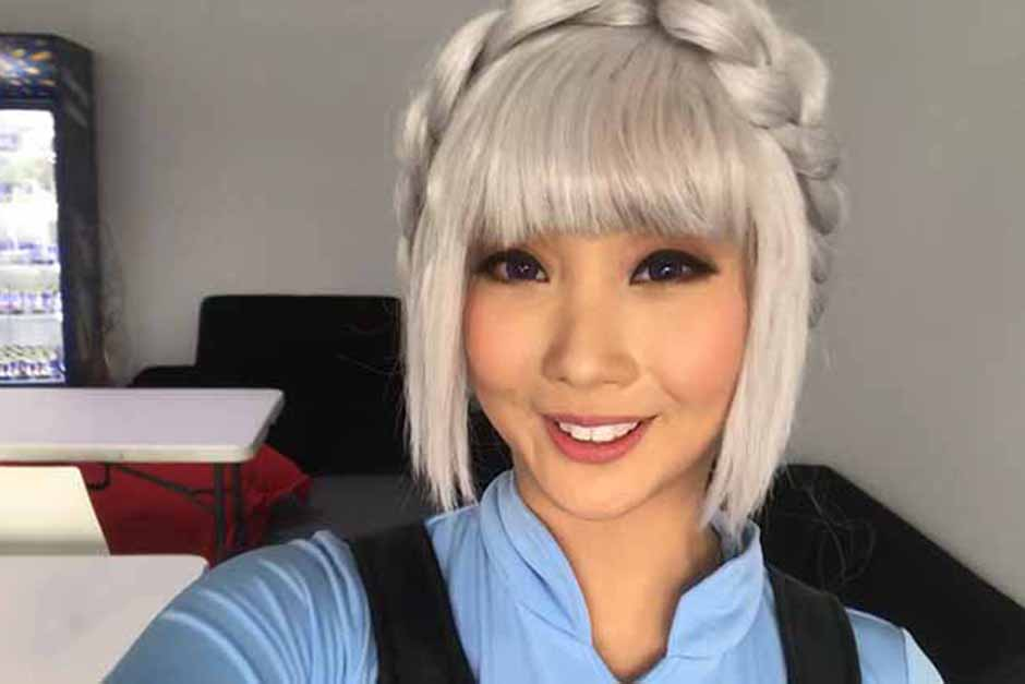 Celebrity cosplayer Alodia Gosiengfiao