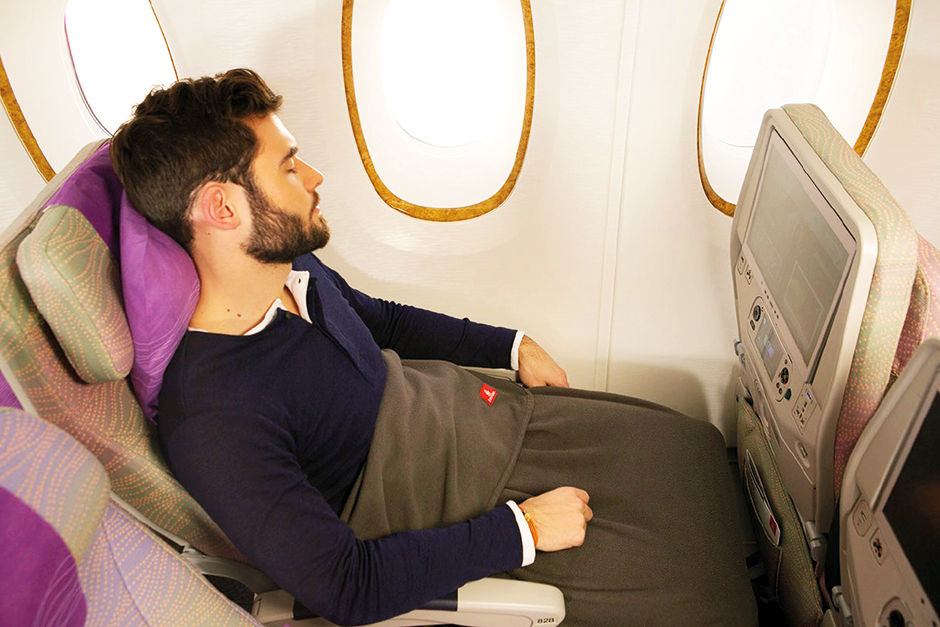 Emirates uses the blankets