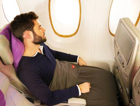 Pledge against plastic: Emirates turns bottles into blankets