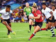 Women's Rugby Sevens is a big hit at Games
