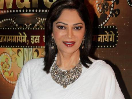 Actress Simi Garewal during the 13th ITA Awards 2013 in Mumbai on 23, Oct.  2013. (Photo: IANS)Image Credit: IANS