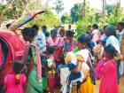 Free clothes to the needy in Kerala