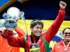 Japan school clerk wins Boston Marathon