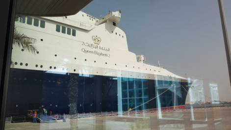 Queen Elizabeth 2: UAE's new floating hotel