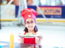 30 seconds with 9-year-old chef Ayesha